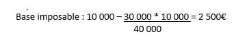 Calcul rachat partiel