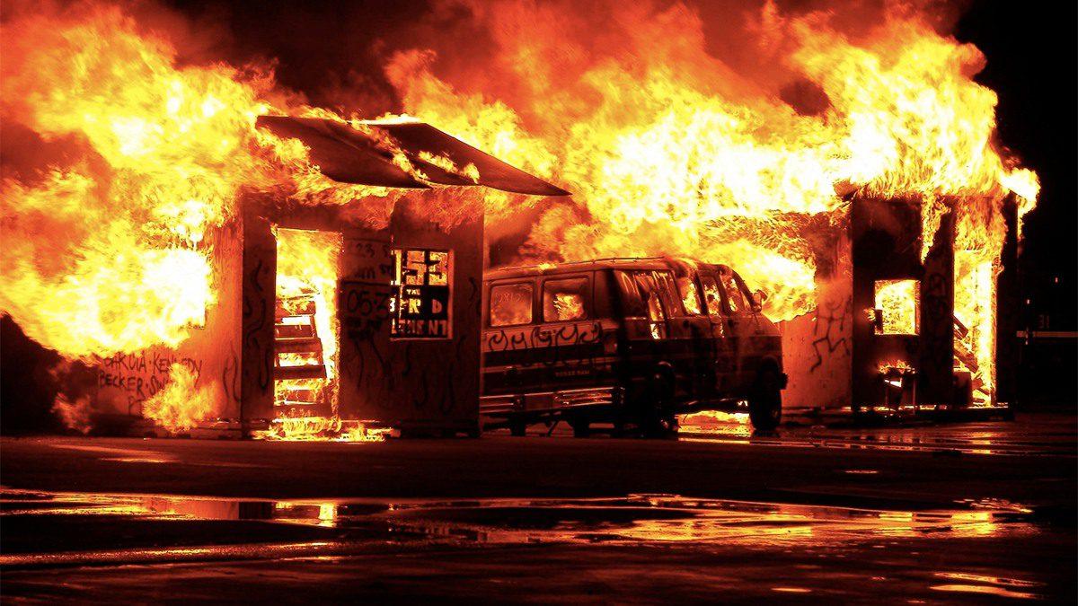 Communication d'incendie